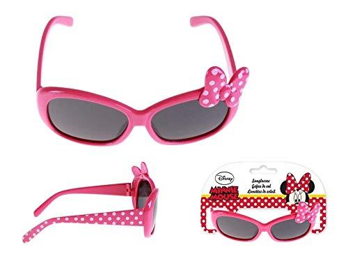 Minnie Mouse Premium Gafas de Sol Montañismo, Alpinismo y Trekking Infantil, Juventud Unisex, Rosa (Rosa), Talla Única