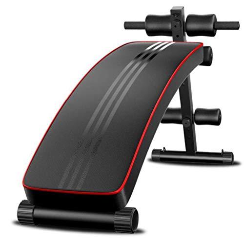 HaoLi Bancos de Pesas Multifuncional Banco de Abdominales Tabla de Crunch Fitness en casa Gimnasio Ejercicio Deportes