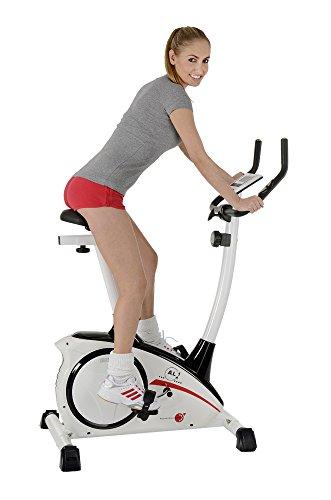 Christopeit Heimtrainer AL 1 Ergometer Fahrrad Bild 5*