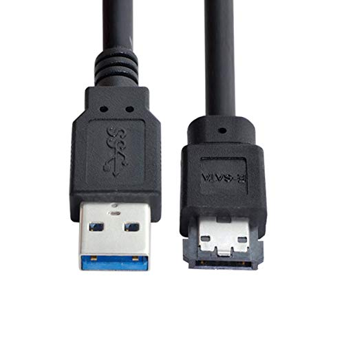 CY USB 3.0 to eSATA Adapter USB to HDD/SSD/ODD Converter eSATA to USB Cable