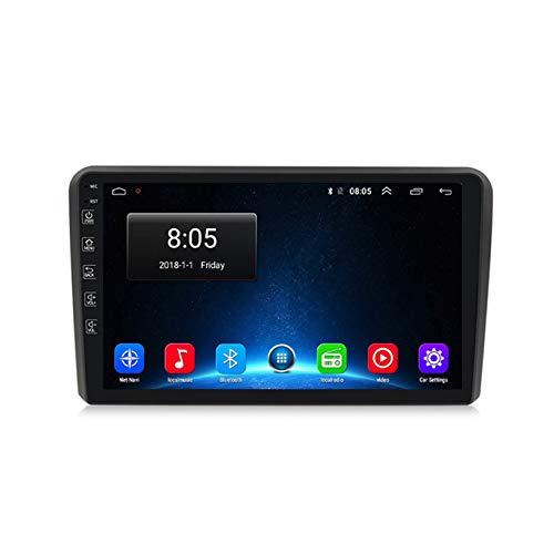 TypeBuilt Android Autoradio Lettore MP5 Bluetooth,2 DIN Dash Auto Stereo Radio Dvd Navigazione,per Audi A3 2 8P 2003-2013 Player con Radio FM AM RDS Chiamata Vivavoce SWC,WiFi,1g+16g