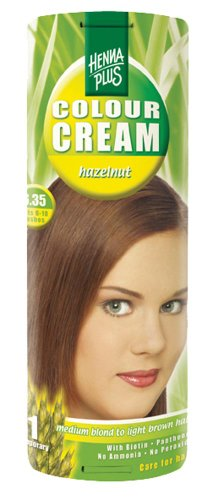Hennaplus Balsam Colour Cream, 60 ml Hazelnoot