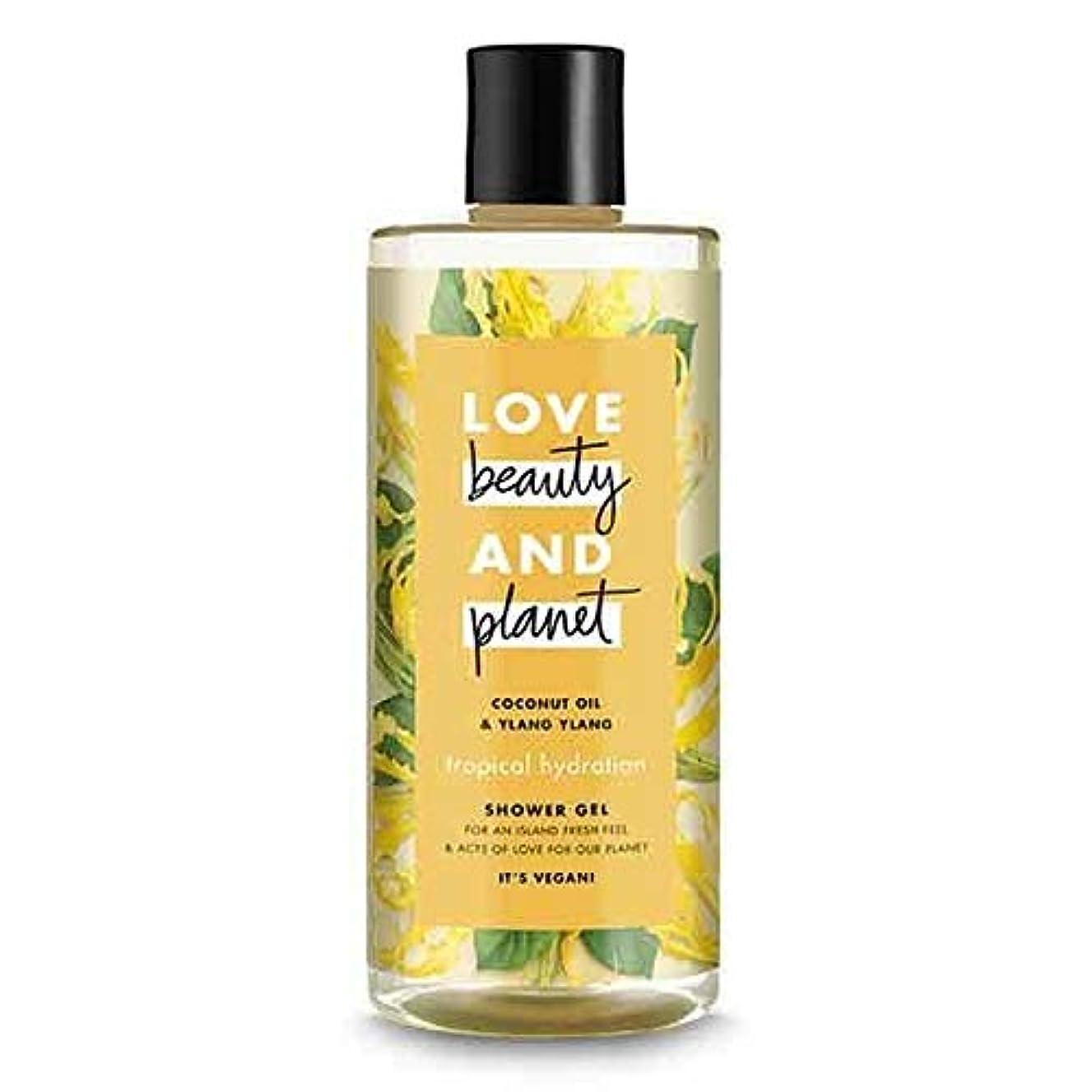 乱れ投資同級生[Love Beauty and Planet ] 美しさと惑星熱帯水和シャワージェル500ミリリットルを愛します - Love Beauty And Planet Tropical Hydration Shower Gel 500ml [並行輸入品]