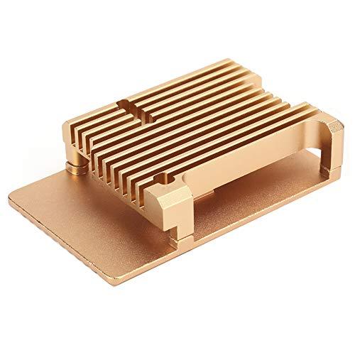 Archuu Caja de protección, Funda Protectora portátil Duradera de disipación de Calor de aleación de Aluminio, para Raspberry Pi3 Modelo 2b/3b