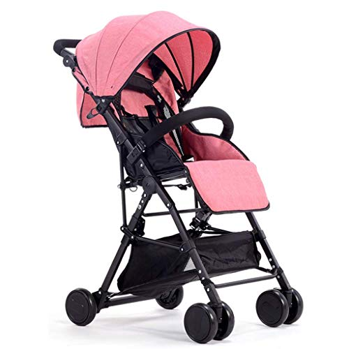 Best Deals! Lightweight Baby Carriage,Travel System, Baby Stroller, Extra-Large Storage, Durable C...