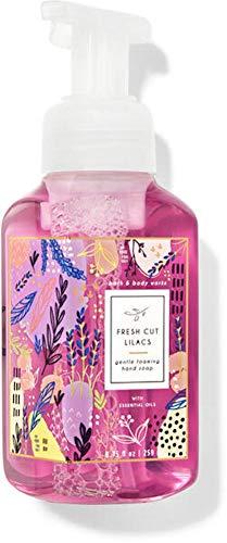 White Barn Candle Company Bath and Body Works Gentle Foaming Hand Soap w/ Essential Oils- 8.75 fl oz - Many Scents! (Fresh Cut Lilacs)