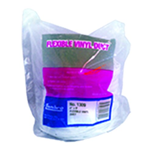 Vinyle Conduit flexible, Blanc, 10,2 cm X 6,1 m