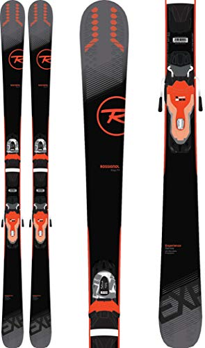 Rossignol Experience 74 Skis w/Xpress 10 Bindings Black/Red Mens Sz 176cm