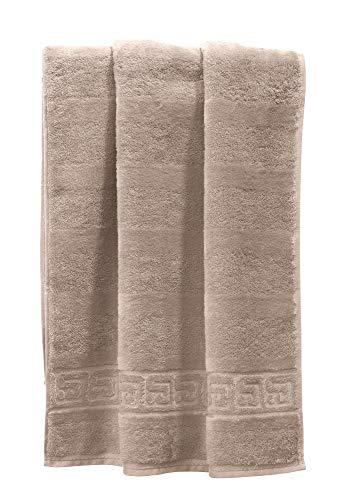 Cawö Handtuch 1001 Noblesse Sand Größe 50x100 cm
