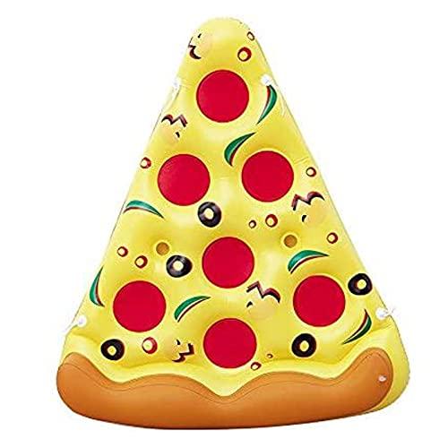 FPWW Flotador de la Piscina de la Rebanada de la Pizza Inflable, la balsa de Agua ultraómica, la Piscina Inflable flotan los Juguetes para Las Actividades de la Fiesta de