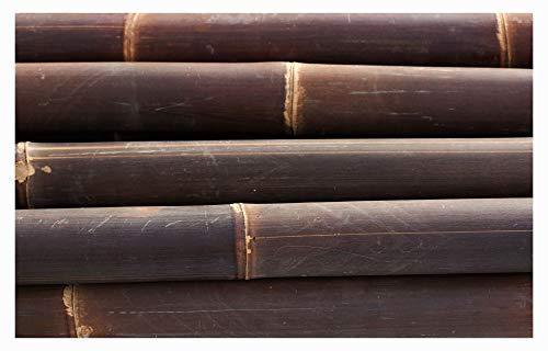 Stein-mosaik 5 Bambusrohre - - B-001 Bild