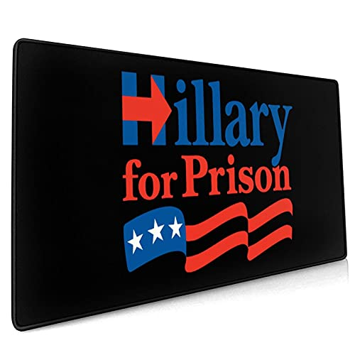 Hillary for Prison Akatsuki Mouse Pad 15.8x35.5 in Anime Mouse Mat Gaming Mouse Pad (40x90cm)