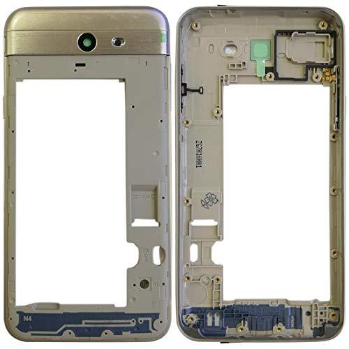 meihansiyun Accesorios de un teléfono Frame alojamiento Trasero for Galaxy J7 V J727V (Verizon) Accesorio (Color : Gold)