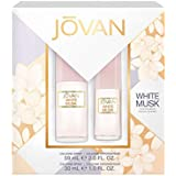 Jovan Women White Musk 2-Piece Gift Set, 1-Ounce and 2-Ounce Bottle, Total Retail Value $20.00
