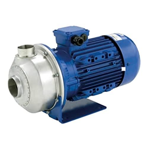 Lowa - Bomba de agua CO35011 1,1 kW acero inoxidable con rueda abierta hasta 27 m3/h trifásica 380 V