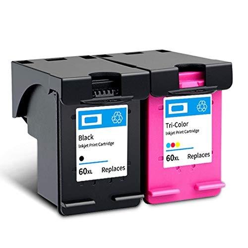 Compatible con cartuchos de tinta remanufacturados 60XL de gran capacidad F4280 2410 C4780 4480 D1620 D2530 C4600 C4700 D110a.