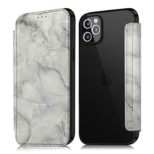 Funda de piel para iPhone 8 y 7 Plus, funda con función atril, carcasa transparente y fina, 360 grados, cuerpo completo, antigolpes, PC transparente, para iPhone 8 y 7 Plus, color negro