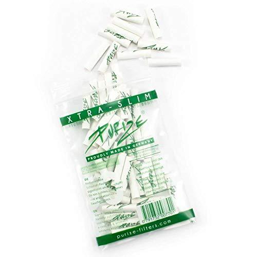 PURIZE® Xtra Slim Size Aktivkohlefilter (50er)
