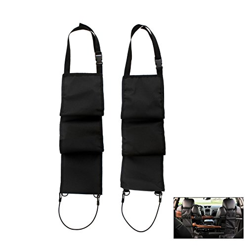 Lowest Price! TEKCAM 1 Pair Car Concealed Seat Back Gun Rack Hold 3 Rifles/Shotguns Hunting Gun Orga...
