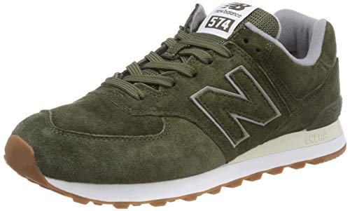 New Balance - ML574EGN - Baskets - Homme - Vert (Dark Covert Green/Dark Covert Green Epb) - 42 EU