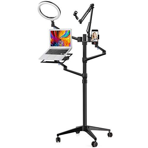 "Viozon Selfie Live Floor Stand Set 5-in-1 10"" LED Ring Light"