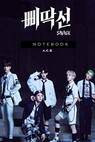 A.C.E NOTEBOOK : DIARY JOURNAL FOR KDRAMA AND KPOP FANS: PERFECT FOR GIFT : 6X9 INCHES AND 110 PAGES