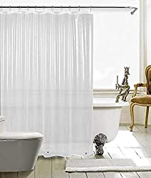powerful HARBOREST Shower Curtain (72 x 72 inches, transparent) – Waterproof, lightweight, 3D surface for bathrooms…