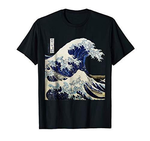 Kanagawa Japanese The great wave T shirt