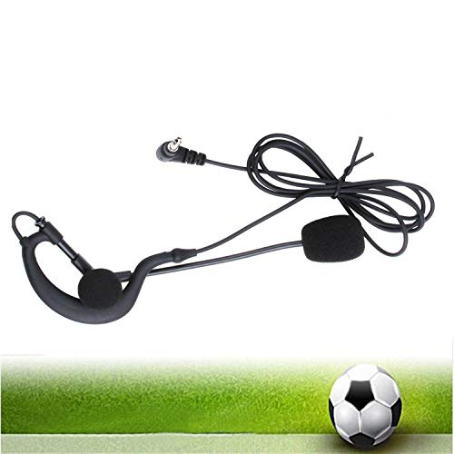 VNETPHONE  Fútbol árbitro Auriculares de VNETPHONE  Fútbol árbitro Auriculares de 3,5 mm Gancho para Auriculares Monoaurales Funciona con V6 V4 FBIM Bluetooth Intercom