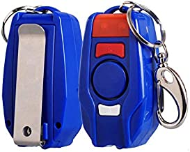 Dasorende Alarm 120DB Girl Women Security Protect Keychain LED Light Emergency Safe Sound Anti-Attack Personal Alarm
