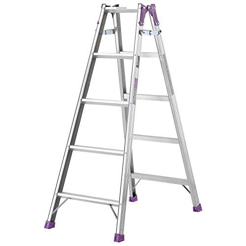 アルインコ(ALINCO) アルミ製はしご兼用脚立 MR150W