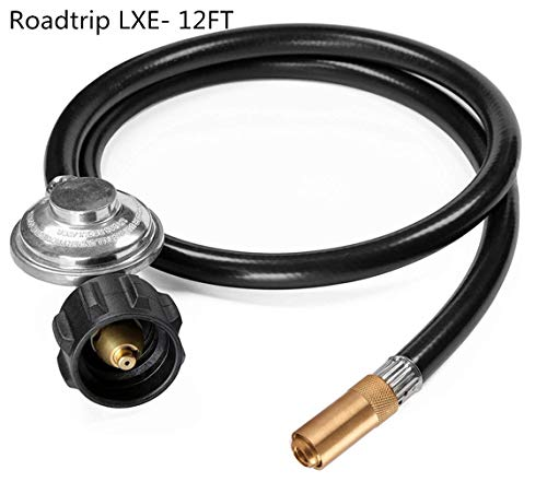DOZYANT 12 Feet Propane Regulator and Hose for Roadtrip LXE Portable Grill, Replacement Parts Connect to Large Propane Tank