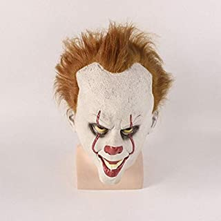 WOIA 2019 Stephen King's It 2 Mask Pennywise Horror Clown Toys Clown Mask Halloween Cosplay Costume Props Figure Gifts Must Have Baby Items Friendship Gifts Boys Favourite Characters