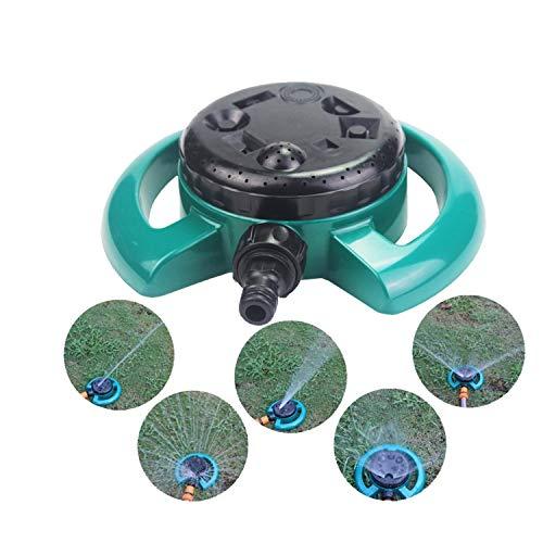 MINGMIN-DZ Dauerhaft 1PC Garten Rasen-Sprenger Automatischer Sprenger Rotary Bewässerung Disc Acht Funktion Sprinkler Automatische Bewässerungssystem
