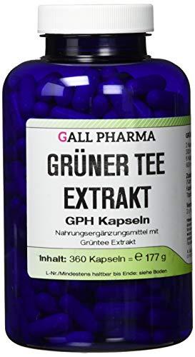 Gall Pharma Grüner Tee Extrakt GPH Kapseln , 1er Pack (1 x 360 Stück)