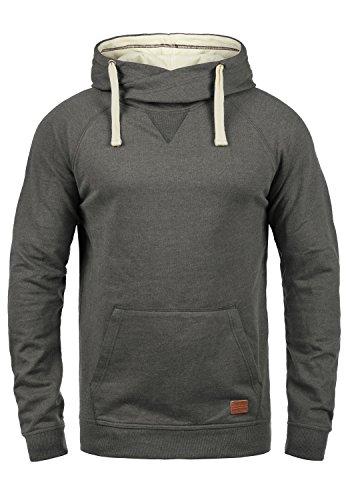 Blend Sales Herren Kapuzenpullover Hoodie Pullover mit Kapuze, Größe:S, Farbe:Pewter Mix (70817)