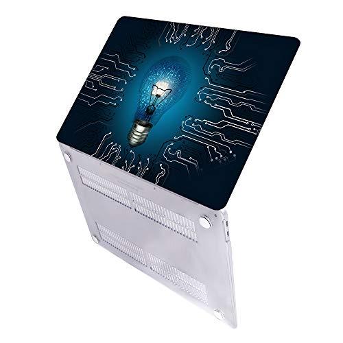SDH Estuche de 13 pulgadas 2020 Edition pantalla táctil y modelo de identificación para MacBook Pro: A2338 M1 A2289 A2251 A2159 A1989 A1706 A1708, funda para ordenador portátil,bombilla 3