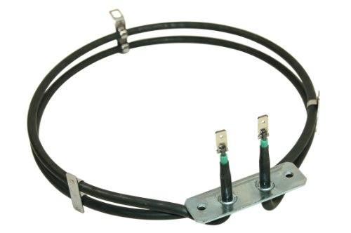 Whirlpool New Genuine WHIRLPOOL 2 TURN FAN OVEN COOKER ELEMENT 2000W FOR APD APS APV AKP AKZ BSO LPR GZP AND TRA MODELS 481225998405 481925928823 481225938177