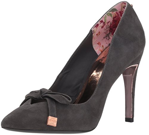 Ted Baker Damen Gewell Pumps, Dunkelgraues Wildleder, 40 EU