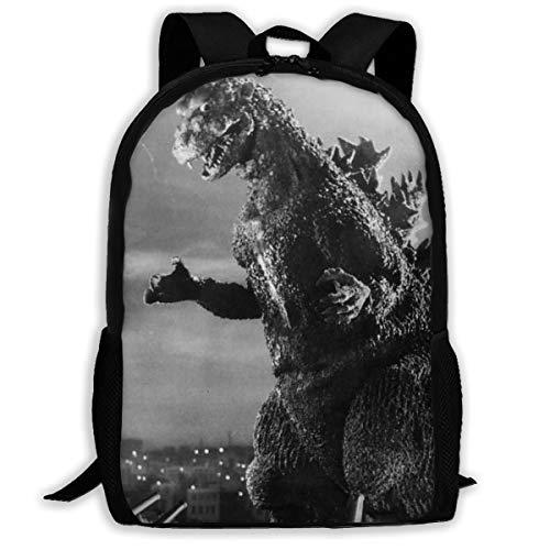 Strange Titans Godzilla School Backpack - Lightweight School Bag For Children Boys Girls College Laptop Bookbag Travel Daypack