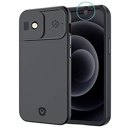 Spy-Fy Funda iPhone 12 con protección para Cámara Anterior...