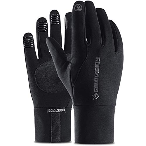 Sugelary Handschuhe Fahrräder, Wasserdicht, Winddicht, Warm und Touchscreen kompatibel den Outdoor-Sport Herren und Damen