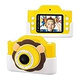Tyhbelle WiFi Kinderkamera mit Cartoon-Schutzhülle