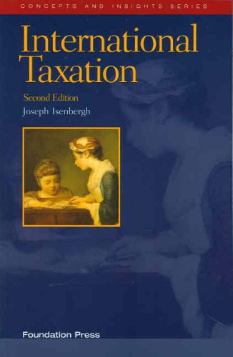 Download International Taxation (Concepts & Insights) 1587787555