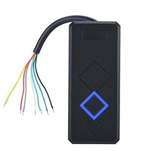 Topiky kaartlezer voor toegangscontroledeur, anti-interferentie, hoge gevoeligheid 1-6 inch; nauwkeurige gegevens van hoge snelheid EM-ID-kaartlezer voor thuis, woning/werkveilig systeem, Mifare-ID