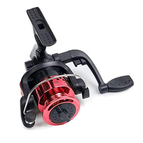 Bait reel 3BB ROJO NEGRO NEGRO 5.1:1 Spinning Pesca Carrete de carrete Copa de alambre Automático Plegable Placa Costerilla izquierda Océano de la mano derecha reel