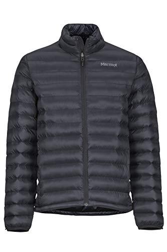 Marmot Herren 74750001 Ultra-leichte Isolierte Winterjacke, Warme Outdoorjacke, Wasserabweisend, Winddicht, Black, S