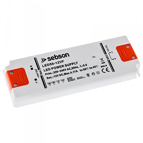 SEBSON 50W LED Treiber/LED Trafo 160x58x18mm