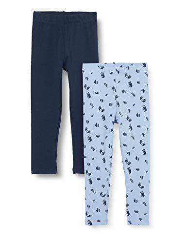 ZIPPY Pack 2 Leggings para niña SS20, Forever Blue 16/4019tc, 2/3 para Niñas