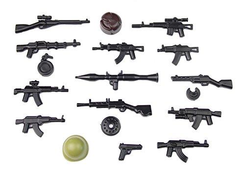 Moderno Armi Personalizzato WW2 plastica di alta qualità Brickarms